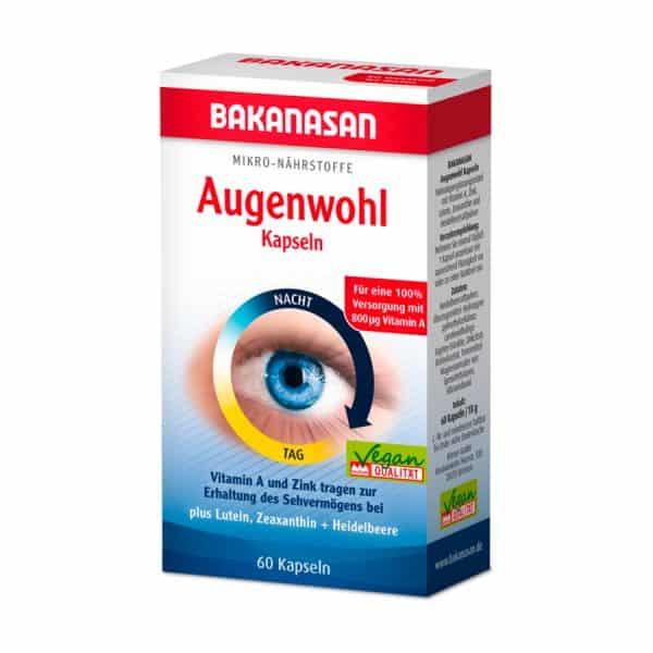 viên uống bổ mắt bakanasan augenwohl