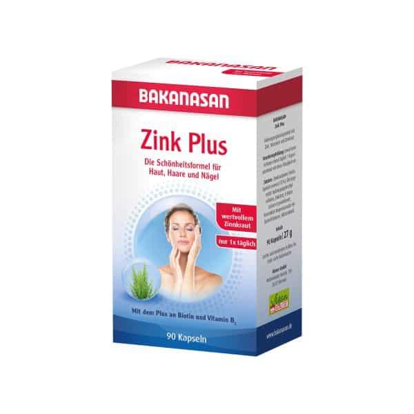viên uống bổ sung kẽm đẹp da móng tóc bakanasan zink plus
